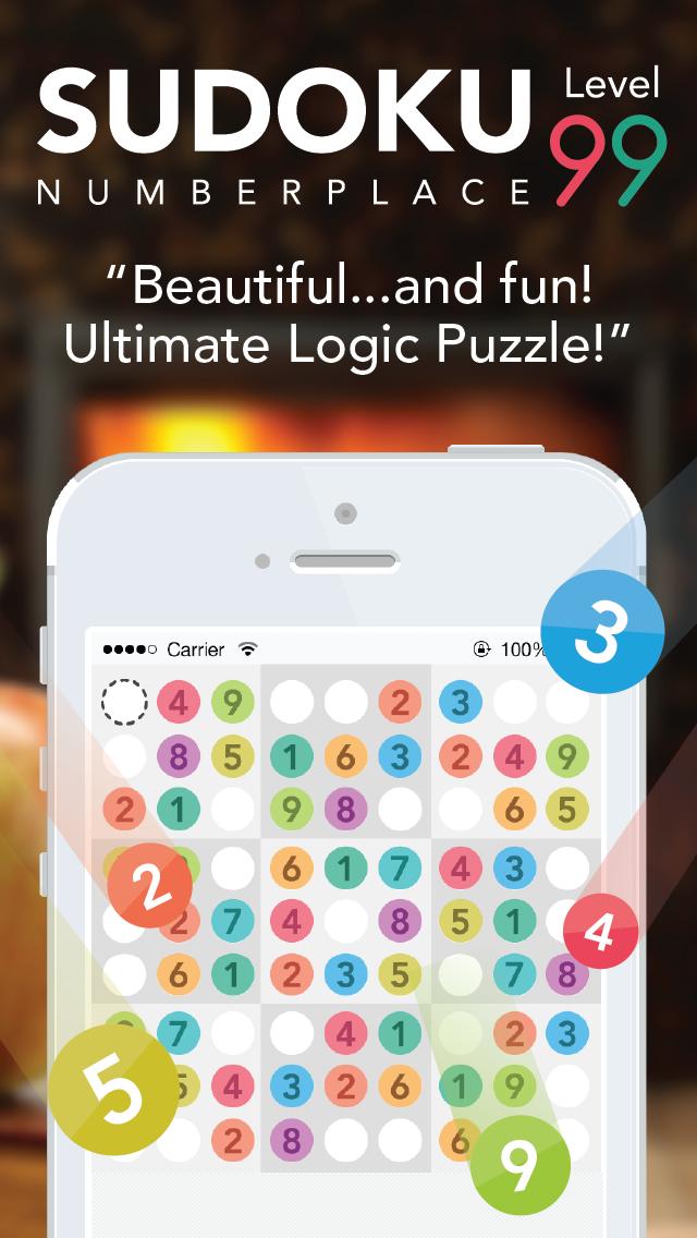 Sudoku : Number Place screenshot one