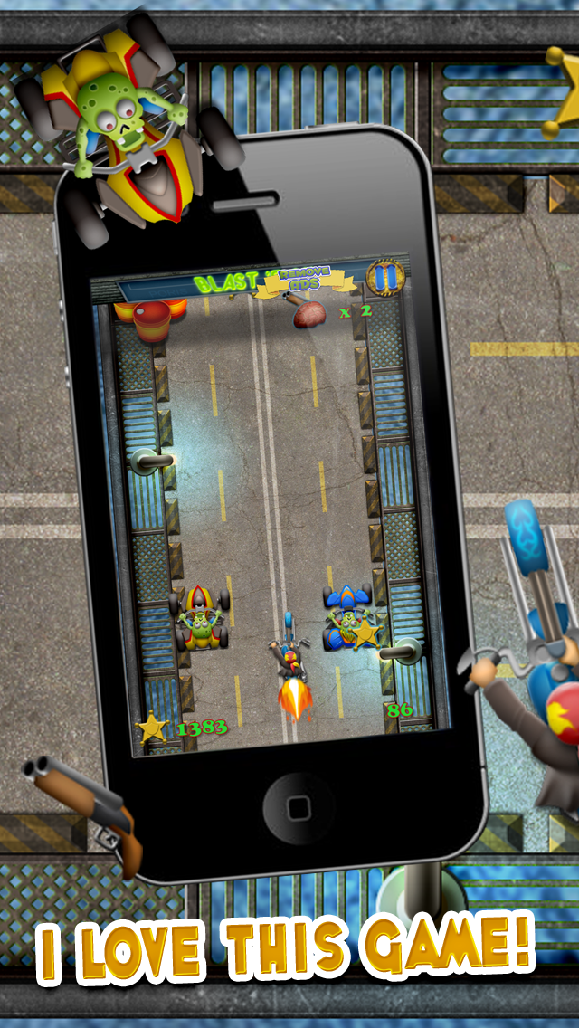 Zombie Motorcycle Reckless Escape : Can you Survive the Gangster Bike Race Highway Riots - FREE Challenge! screenshot two