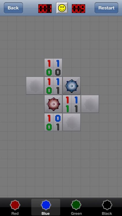 MineSweeper - 4 Bombs Logic screenshot-3