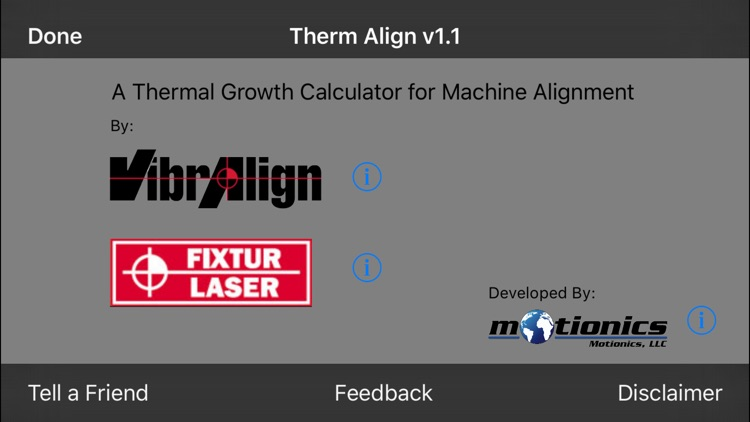 Therm Align - A Thermal Growth Calculator for Machine Alignment screenshot-3