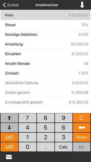 Finanzrechner + im App Store
