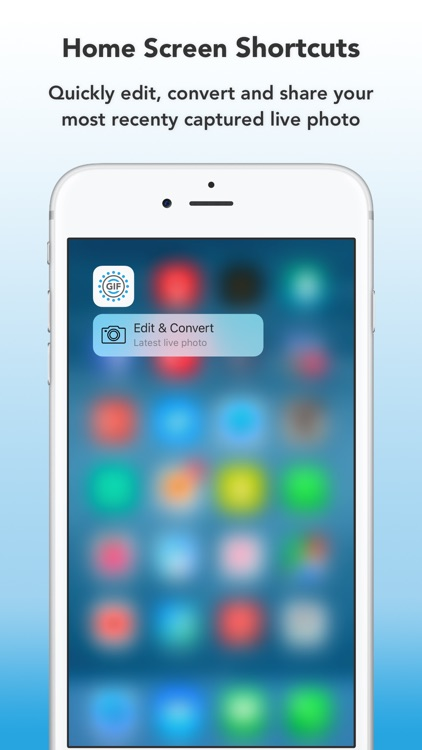 Enliven : Edit, Convert and Share Live Photos as GIFs screenshot-4