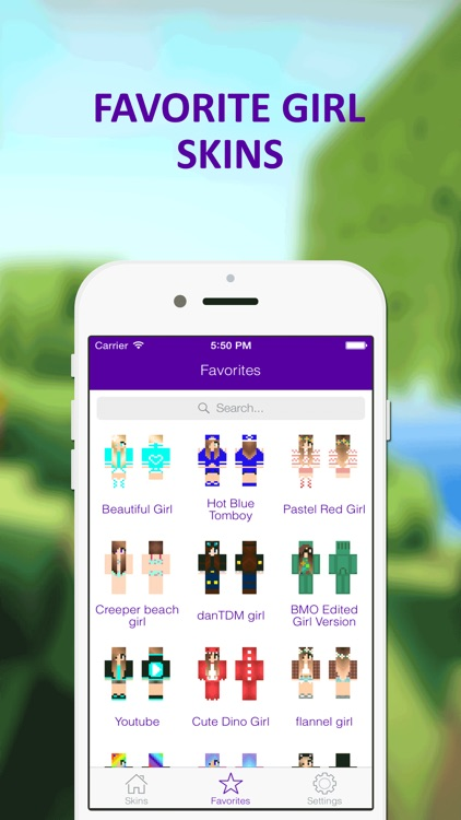 Best of HD Girl Skins - Ultimate Collection for Minecraft PE screenshot-3