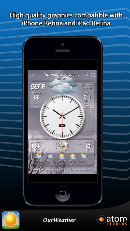 OurWeather - weather forecast made simple screenshot-2