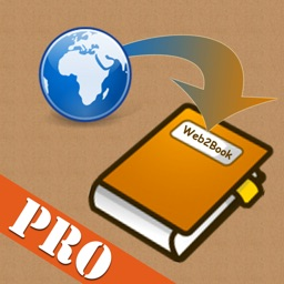 Web2Book Pro - Convert and Pack Web Pages From Different Web Sites to An iBooks epub Book