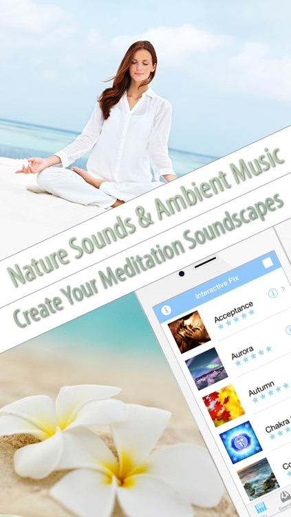 Meditation Sounds and Ambient Music for Nondirective Meditation, Reduce Stress, Yoga Class, Massage Therapy, Inner Peace and Zen screenshot-0
