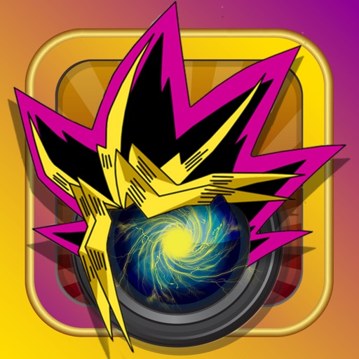 Manga & Anime YU GI Stick Camera : Photo Booth Dress Up For Saiyan Cartoon Style iOS App