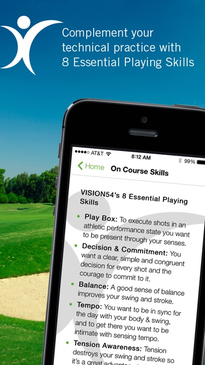 Essential Playing Skills On Course Practice
