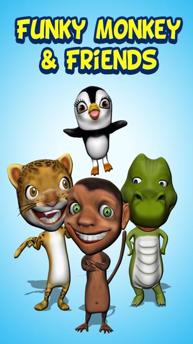 Funny Monkey 3D & Friends. My Little Virtual Reality Pet in