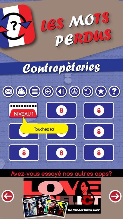 Contrepèteries - Les MOts PErdus screenshot-4