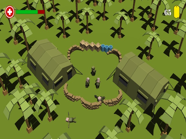 Blocky Fodder, game for IOS