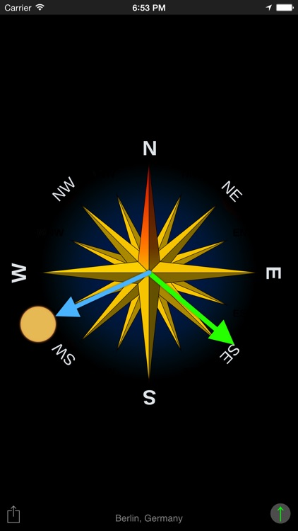 Sun Compass App screenshot-2