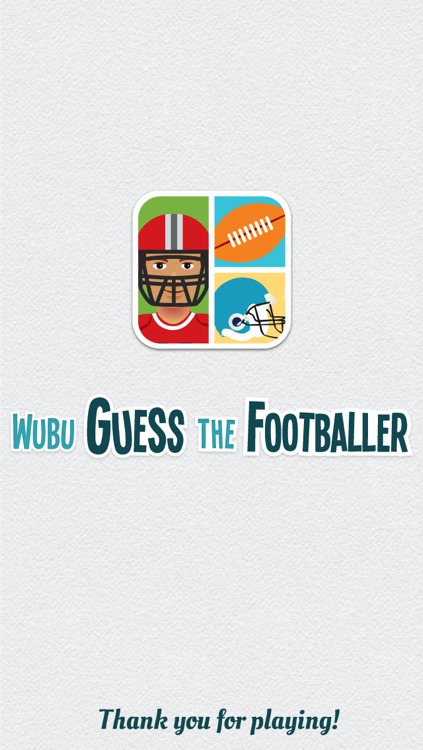 Wubu Guess the Footballer - American Football - FREE Quiz Game screenshot-4