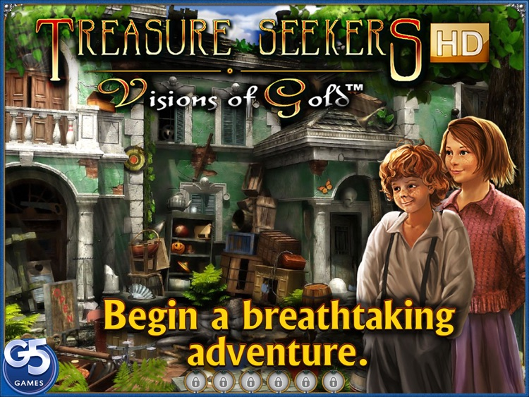 Treasure Seekers: Visions of Gold HD (Full) screenshot-0