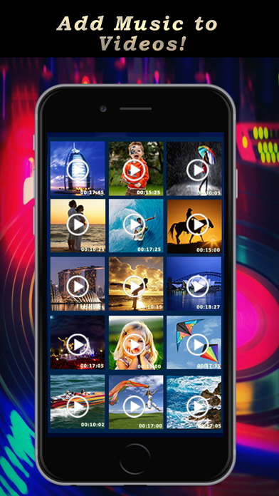 Add Music To Video Pro – in Background for Youtube &
