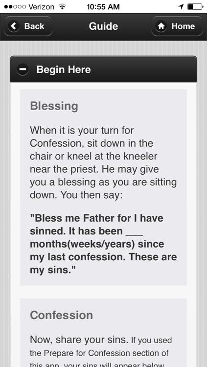 Confession App: Catholic Sacrament screenshot-3