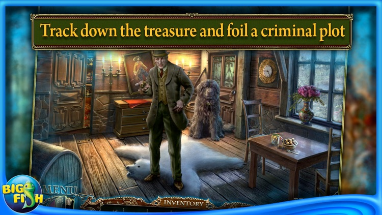 Edgar Allan Poe's The Gold Bug: Dark Tales - A Hidden Object Adventure screenshot-3