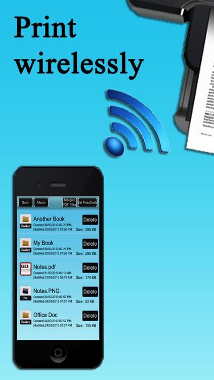 Handy Scanner - Scanner And PDF Merger screenshot-4