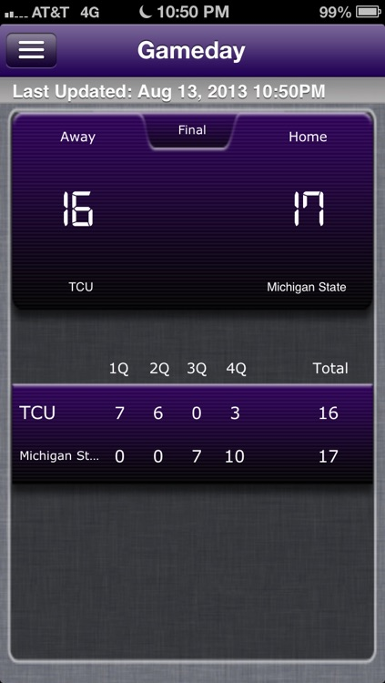 TCU Football Live screenshot-4