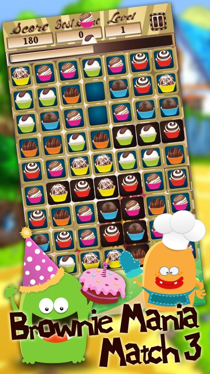 Brownie Mania Match 3 screenshot-4