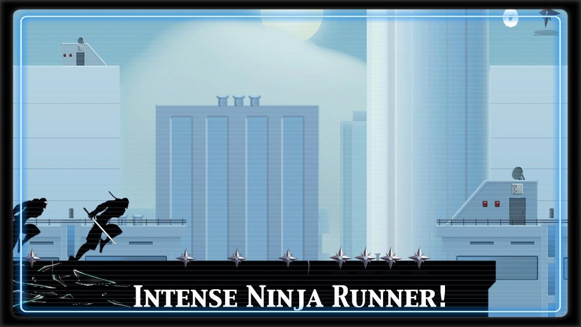 Ninja Parkour Dash: Escaping Vector Samurai & Jumping Sensei's Banzai & Throw-ing Shurikens Screenshot