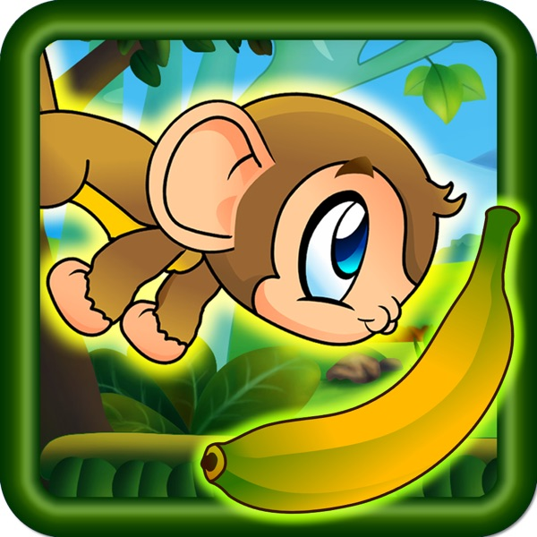 Brave Baby Monkey - Jungle Jump and Run Adventure