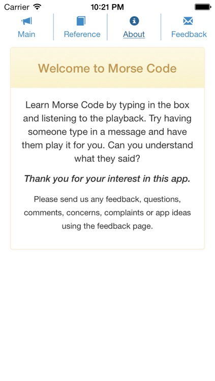 -Morse Code-
