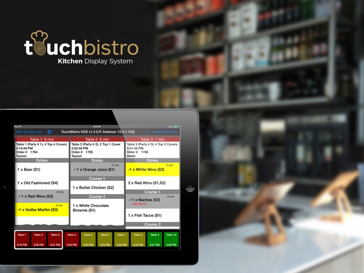 TouchBistro Kitchen Display System