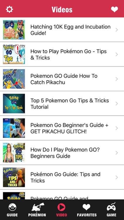 Pocket Guide Pro - for Pokemon GO Walkthrough Tips & Video Guides