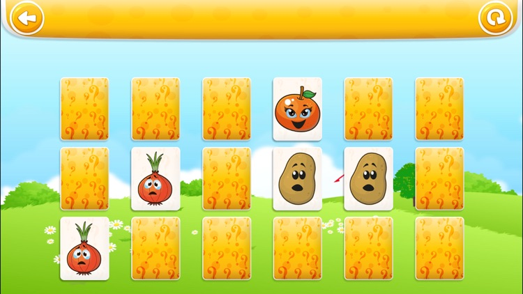 Veggies & Fruits HD : Learning, colouring and educational games for kids and toddlers! screenshot-3