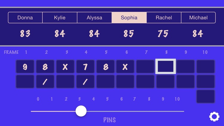 Bowling Score Calculator screenshot-2