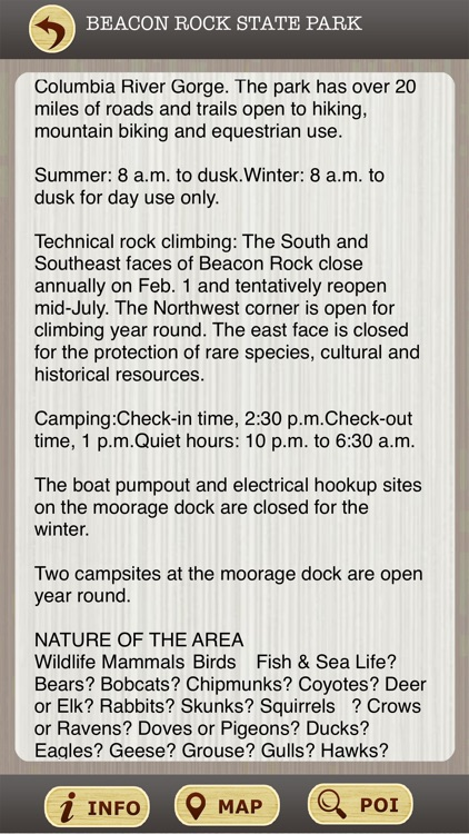 Washington State Parks & National Parks Guide screenshot-3
