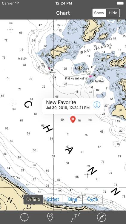 San Juan Islands (Washington) – Raster Nautical Charts screenshot-3