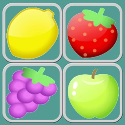 Fruit Shoot Match 3 Puzzle Games - Magic board relaxing game learning for kids 5 year old free