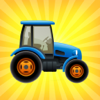Farm Tractor - Agriculture Farming Tool, Gardering
