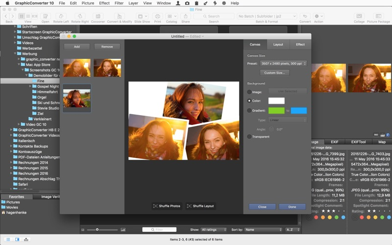 GraphicConverter 10 Screenshots