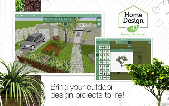 Home Design 3D Outdooru0026Garden On The Mac App Store