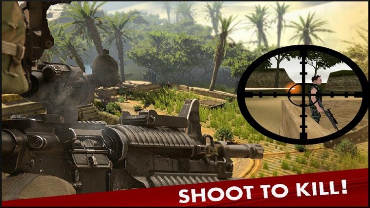 Bravo Sniper Assassin. Commando Shoot To Kill On Frontline Duty Call screenshot-3