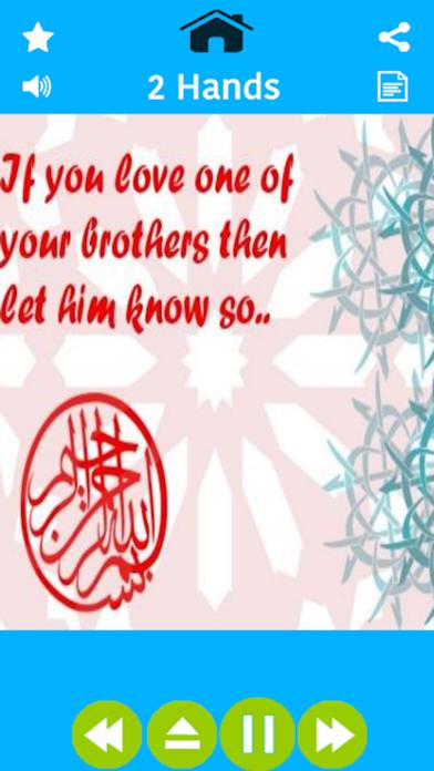 Kids Islamic Nursery Rhymes-Baby Islamic poems for Kindergarten toddlers and madni munnay Screenshot on iOS