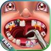 クレイジー歯科医 子供のための楽しいゲーム  狂気の歯科医の診療所で患者を治療 !フリー