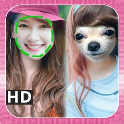 Dog Face Insta Maker and Changer Pro (Animal Stickers Swap and Morph)
