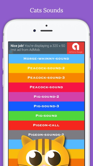 Farm Animal Sounds(Dog,Cat,Horse,Rooster,Cricket,Dove,Donkey