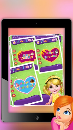 Birthday greeting card maker happy birthday frame photo collage iphone ipad bookmarktalkfo Image collections