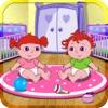 赤ちゃんの双子とドラのプレイ時間 - 無料の子供のゲーム
