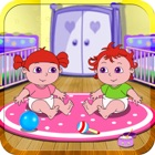 Время воспроизведения Доры с ребенком близнецов - бесплатные игры ребенка icon