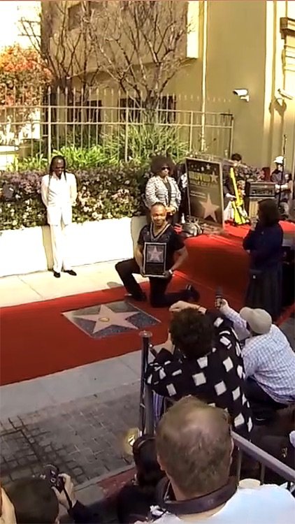 VR Virtual Reality press360 - Walk of Fame Star Unveiling Ceremony