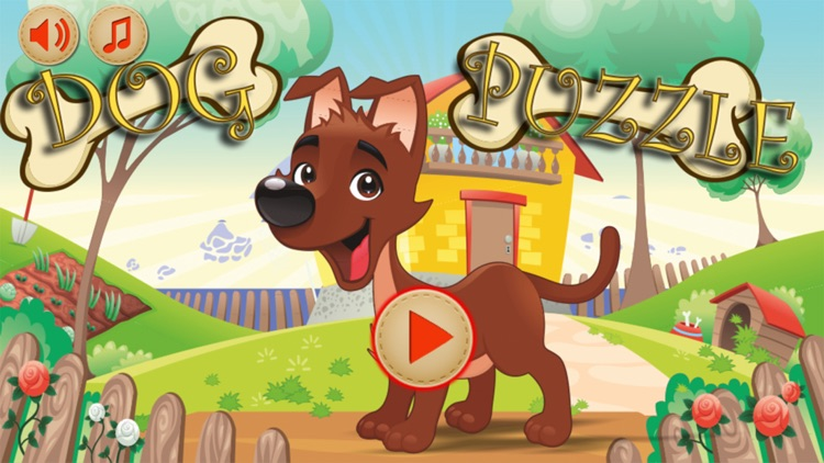 Baby Puzzles : Funny Dogs