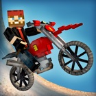 Cubikes | Desert Dirt Bikes Racing & Crafting Game For Free icon