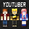 3D Youtuber Skins Collection - Pixel Texture Exporter for Minecraft Pocket Edition Lite Reviews