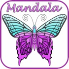 Mandala Coloring Page : Best Colors Therapy Stress Relieving Book For Adult Free icon